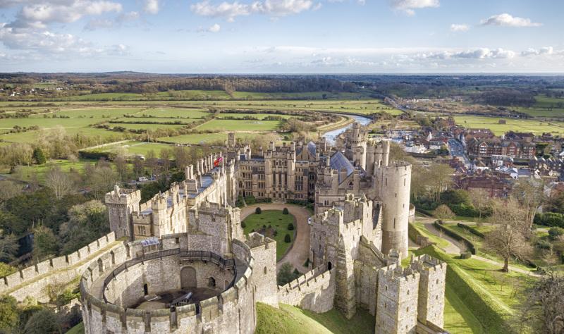 Unmissable coastal castles