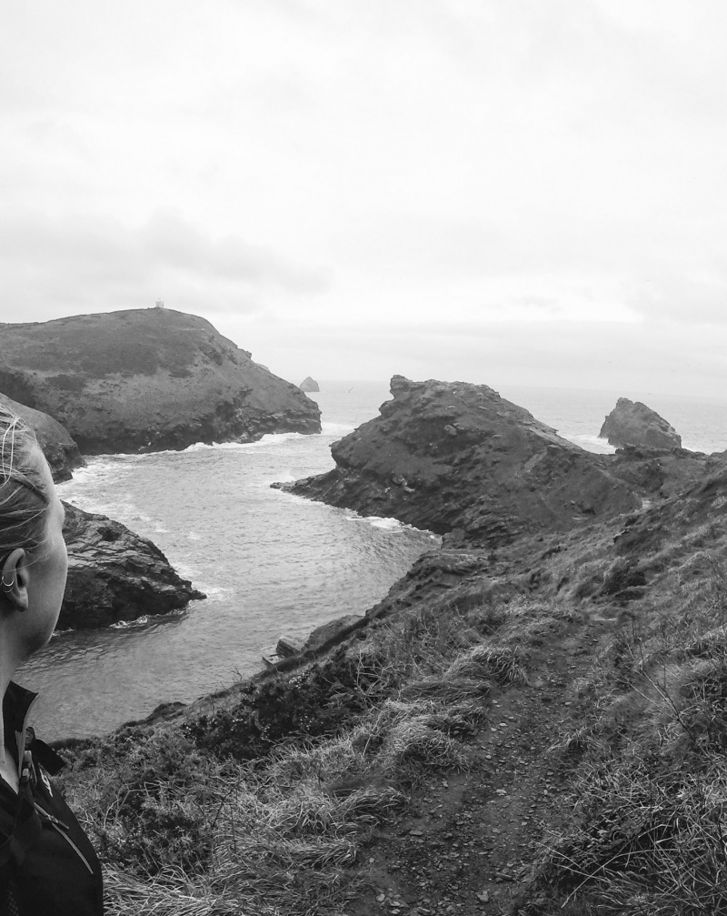 Top places to visit on the South West Coast Path in Winter from a trail runner!