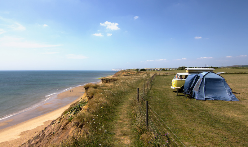 Caravan and camping holidays