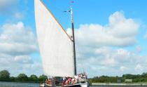 Wherry Yacht Charter Charitable Trust 'Sail on a Traditional Wherry'