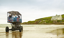 The Burgh Island Sea Tractor