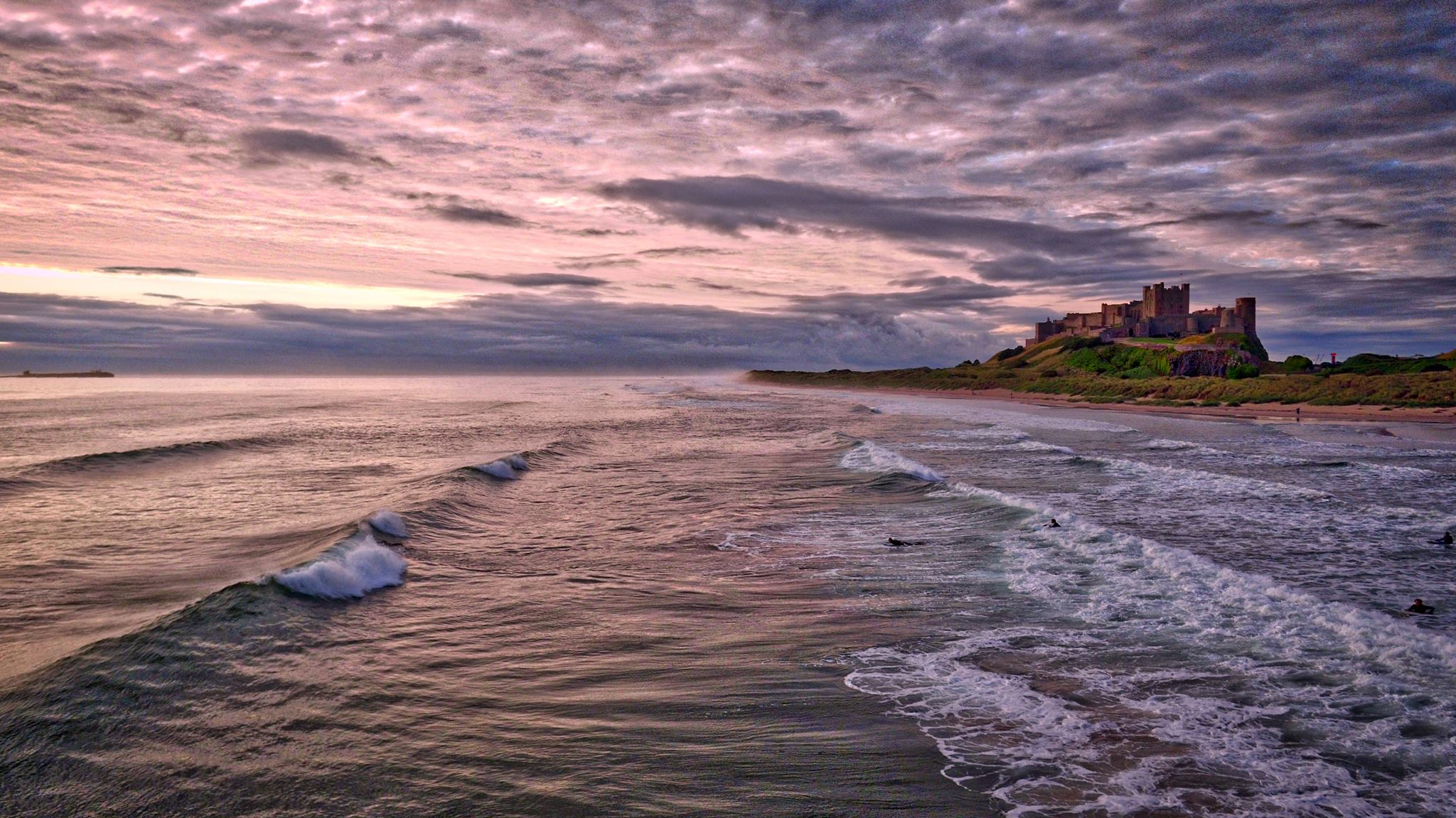 What to do this Christmas in Northumberland, Bamburgh Castle